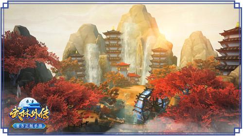 图片: 图3+《武林外传官方手游》场景:杏子林.jpg
